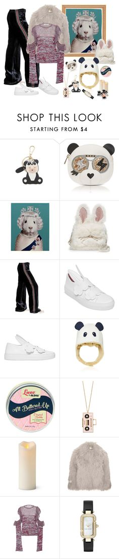 """""""Bunny in disguise - undercover Sunday"""" by juliabachmann ❤ liked on Polyvore featuring Furla, Empire Art Direct, Kate Spade, Faith Connexion, Minna Parikka, Donsje, Improvements, STELLA McCARTNEY, Philosophy di Lorenzo Serafini and Marc Jacobs"""