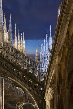 ITALIA - Duomo Spires da Lee Sie