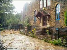 When the rains came to Old Glossop Peak District, Derbyshire, Old And New, England, Times, Street, House Styles, Places, Pictures