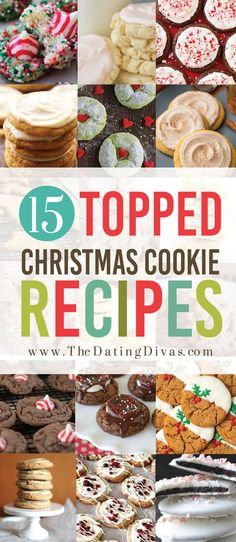 The BEST Christmas Cookies- super festive for any holiday party or neighbor gift Easy Christmas Treats, Easy Christmas Cookie Recipes, Christmas Food Gifts, Christmas Cookie Exchange, Delicious Cookie Recipes, Christmas Sugar Cookies, Xmas Food, Christmas Cooking, Holiday Baking
