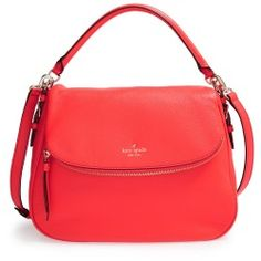 Women's kate spade new york 'cobble hill - devin' satchel - Red
