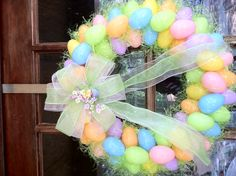 Easter Egg Wreath!