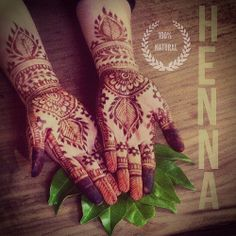 Henna is natural | Flickr - Photo Sharing!