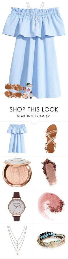"""""""shoutout to my angel❣️"""" by beingrach ❤ liked on Polyvore featuring Charlotte Russe, Olivia Burton, NARS Cosmetics, Orelia and Chloe + Isabel"""