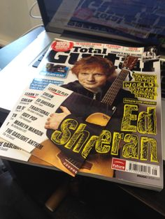 The new Total Guitar has landed at Westside, with Ed Sheeran on the cover clutching his trusty LX1 Little Martin