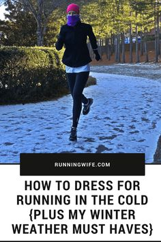 How to Dress for Running in the Cold