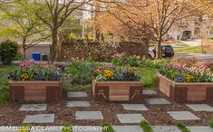 front yard landscaping raised beds - Google Search