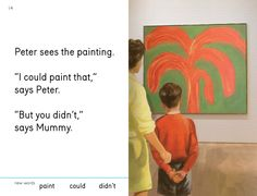 Miriam and Ezra Elia's riff on Peter and Jane, We Go to the Gallery. Click for more