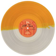 New A-Trak single. Split color vinyl!