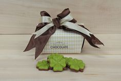 250 gram klavertjes  Chocolate & Gifts www.chocolateandgifts.nl