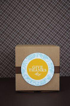 """Thank You"" Printables"