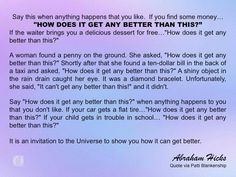 How does it get any better than this Manifestation Law Of Attraction, Law Of Attraction Quotes, Positive Thoughts, Positive Quotes, Positive Vibes, Laws Of Life, Abraham Hicks Quotes, It Gets Better, Spiritual Awakening
