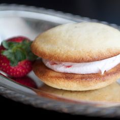 Vanilla Cakes With Strawberry CreamWhen summer comes to the northeast we start thinking about strawberries and what is the best thing to accompany those r...