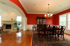 Formal dining room with an arched entry. Decor, Table, Luxury, Furniture, Luxury Living, Home Decor, Formal Dining Room, Room, Dining Room