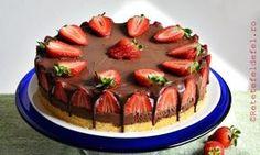Tort cu mousse de ciocolata si capsuni, o reteta simpla si delicioasa, foarte simplu …