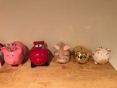Five little Pigs.four plus a bunny Five Little Pigs, Piggy Bank, Bunny, Real Estate, Cute Bunny, Money Box, Real Estates, Money Bank, Rabbit