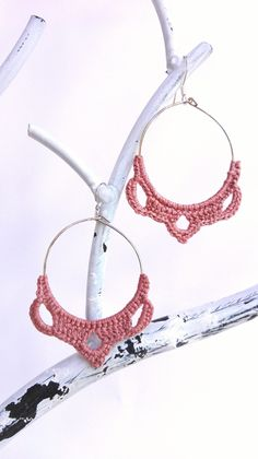 #pendientesganchillo #bisuteriaganchillo #crochetedearrings #crochetjewelry