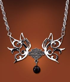 want me a harley davidson necklace