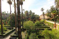 Gardens in Spain Seville