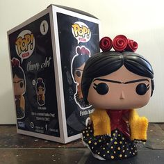 Just finished another custom Chavez Art Funko Pop Frida figure with box! Thanks for the support Arizona! Pop Custom, Custom Funko Pop, Funko Pop Vinyl, Funko Pop Dolls, Funko Pop Figures, Pop Vinyl Figures, Funko Pop Display, Funko Pop Anime, Frida Art