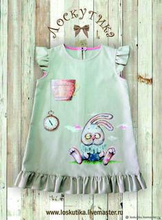 1fdfb85690e9 Одежда для девочек, ручной работы. Ярмарка Мастеров - ручная работа. Купить  Платье для
