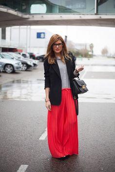 Todas las imágenes de street style en Mercedes Benz Fashion Week Madrid: Silvia Bosch