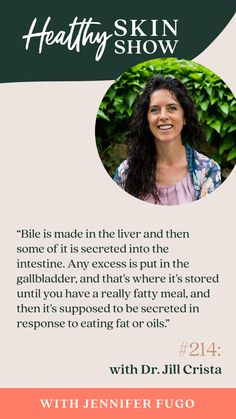 214: What's Bile Got To Do With Clearing Mold w/ Dr. Jill Crista Mold Exposure, Eat Fat, Im Trying, Whole Food Recipes, No Response