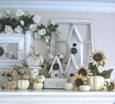 Junk Chic Cottage: Trying to bring out some Fall Decor