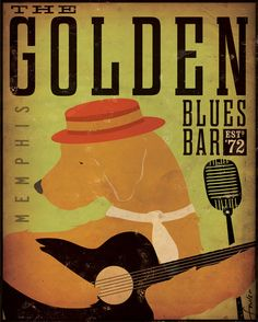 Golden Retriever Blues club