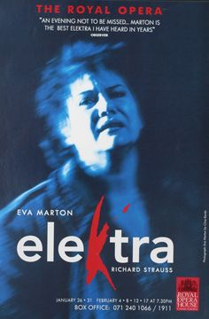 Buy an original vintage Royal Opera poster for Elektra at Frontrow Posters. Richard Strauss, Seasons, The Originals, Movie Posters, Fictional Characters, Image, Artists, Film Poster, Seasons Of The Year