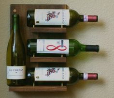 Wall Mounted Wine Rack.