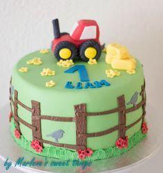 Traktor-Torte