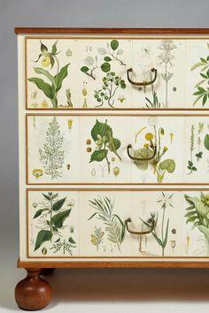 Flora, Chest of Drawers designed by Josef Frank for Svenskt Tenn, Sweden image 6