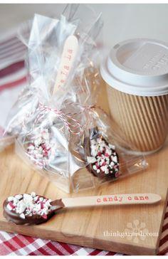 Christmas | Garnish Blog....with homemade hot chocolate mix for neighbor gifts