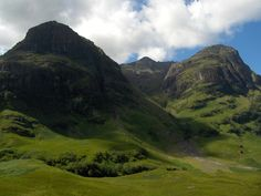 The Three Sisters - Glencoe, Scotland. Love the Highlands so much