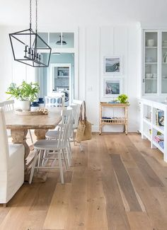 Farmhouse Style Kitchen, Modern Farmhouse Kitchens, Home Kitchens, Coastal Farmhouse, Lake House Kitchens, Cottage Kitchens, Coastal Cottage, Farmhouse Design, Rattan Bar
