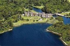 Ashford Castle in Ireland... now a bed and breakfast.  Ummm... YES.