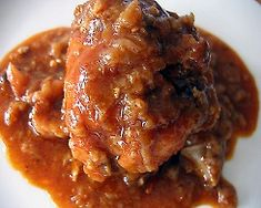 Don't like that it's from an HCG Diet website, but the recipe itself looks yummy...Chicken Paprika