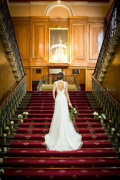 Dream Venue: Cutlers' Hall, Sheffield. Vintage elegance.  Image by RJH Photography.  Read more: http://bridesupnorth.com/2016/05/31/dream-venue-cutlers-hall/  #wedding