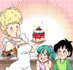 Bulla ~ Pan ~ Bunny Briefs Dragon Ball Z, Dragon Z, Dragon Tattoo Back, Small Dragon Tattoos, Dbz Pictures, Fan Art, Sailor Moon, Manga Dragon, Dbz Characters