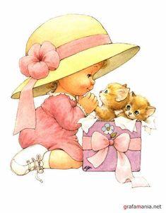 Girl with Kittys