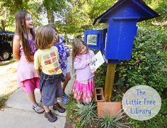 Ramblings From Utopia: {WW}: Little Free Library Visit; this LFL in Swedish blue
