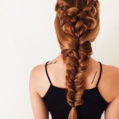 Don't know what hairstyle to do? Do them both and create a mixed braids look! 💁🏼💕