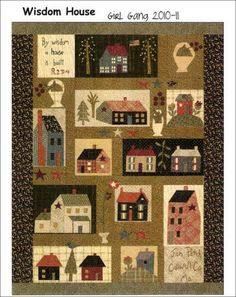 block of the month Wisdom House by Jan Patek