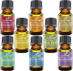ArtNaturals Aromatherapy Top 8 Essential Oils, 100% Pure ...
