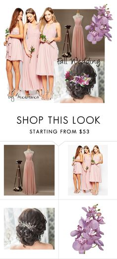 """""""Fall Wedding"""" by alice-durica ❤ liked on Polyvore featuring ASOS and Rock 'N Rose"""
