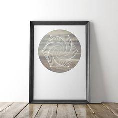 Zen Digital Download Photo, Minimalist Art, Sacred Geometry Wall Art, Fine Art Photography, Yoga art, Coastal Print, Sacred geometry Print