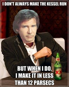 The Most Interesting Millennium Falcon Pilot In The World