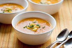 Carrot and Parsnip Soup with Ginger for a Brilliant Kick
