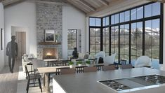Located in Wilson, WY, this new single-family residence is currently under design. The site fronts sweeping views of the Grand Tetons to the west and north, with the north facade of the house featuring large expanses of glass that capture views of The Grand. The intention of the design is to reference the vernacular of …